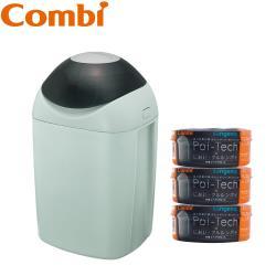 日本Combi Poi-Tech 尿布處理器+膠捲x3