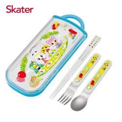 Skater三件式餐具組-巧虎PICNIC