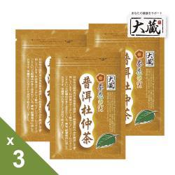 【大藏Okura】普洱杜仲茶(2g x20包/袋)3袋組