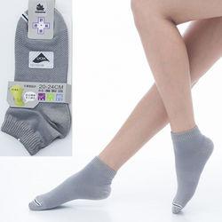 【KEROPPA】可諾帕舒適透氣減臭超短襪x灰色兩雙(男女適用)C98005
