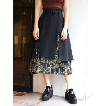 [MURUA]Emily flowerレイヤードスカート
