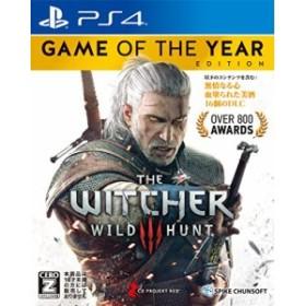 【中古】(PS4)ウィッチャー3 ワイルドハント ゲームオブザイヤーエディション 【CEROレーティング「Z」】 (管理:405344)