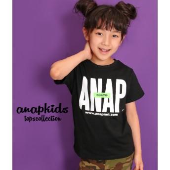 ANAP KIDS アナップキッズ ANAPTOKYOロゴUSAコットンTシャツ