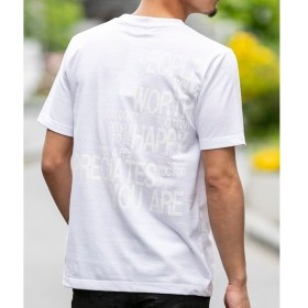 [マルイ]【セール】【ADMIX】メッセ-ジロゴ/バックプリントTシャツ/A・S・M(A.S.M)