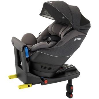[ISOFIX・シートベルト取付x回転式]アップリカ クルリラプレミアムAB プレミアムグレー チャイルドシート ベビーカー・カーシート・だっこひも カーシート・カー用品 チャイルドシート(新