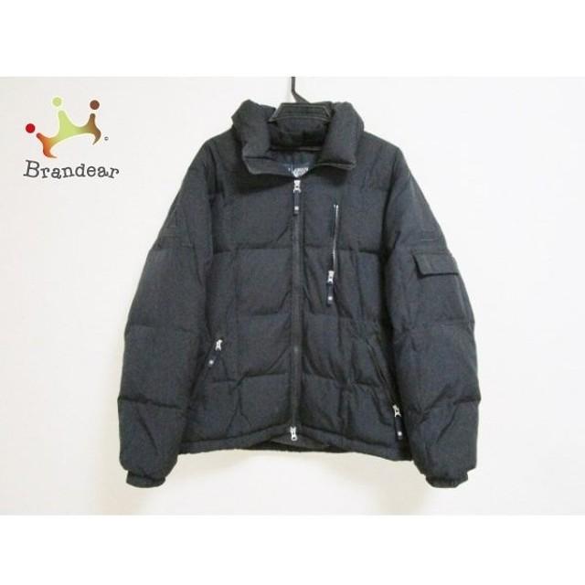 アルマーニジーンズ ARMANIJEANS ダウンジャケット サイズ50(I) M メンズ 黒 冬物 新着 20190620