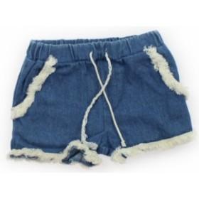 【プティマイン/petitmain】ショートパンツ 80サイズ 女の子【USED子供服・ベビー服】(413895)