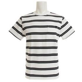【Super Sports XEBIO & mall店:トップス】PELHAM STRIPE 半袖Tシャツ 19SUQST192051WHT
