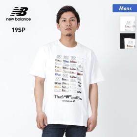 NEW BALANCE/ニューバランス メンズ 半袖 Tシャツ インクレディブルT ティーシャツ クルーネック トップス MT91582