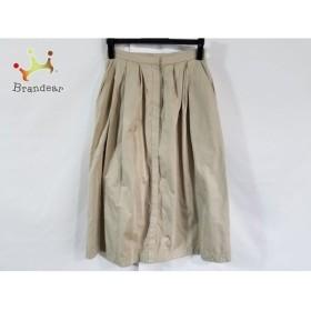 ザシークレットクローゼット ロングスカート サイズ1 S レディース 美品 ベージュ 新着 20190620