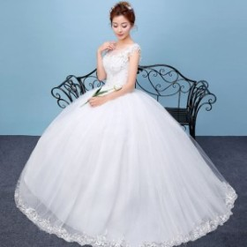 ウェディングドレス 花嫁衣装 高級ドレス レース ラグジュアリー スレンダー ウエディングドレス ブライダルウェア