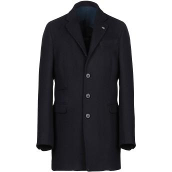 《期間限定セール開催中!》BARBATI メンズ コート ダークブルー 52 アクリル 45% / ポリエステル 30% / ウール 20% / 指定外繊維 5%
