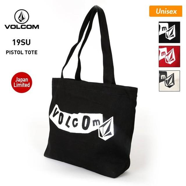 VOLCOM/ボルコム メンズ&レディース トートバッグ かばん キャンバス 鞄 ショルダーバッグ ロゴ E65219JB