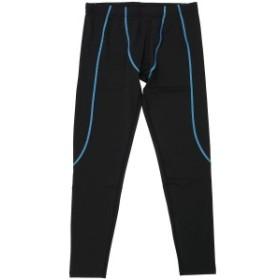 スポーツオーソリティ ランニング メンズタイツ ロングタイツ 5C-Y17-302-010 メンズ ブラック/ブルー