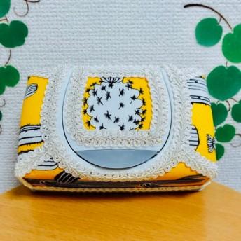 ️元気な黄色のサボテン シートケース ️