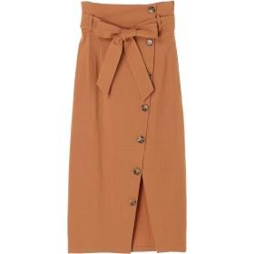 MURUA ボタンペンシルタイトスカート