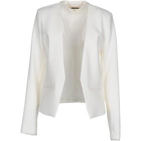 《期間限定セール開催中!》MICHAEL MICHAEL KORS レディース テーラードジャケット ホワイト 6 94% ポリエステル 6% ポリウレタン