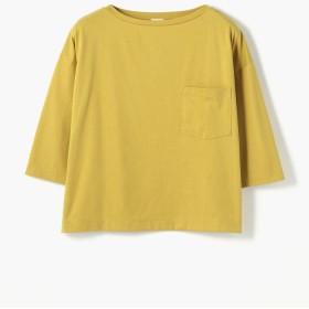 トゥモローランド ファインコットン ビッグTシャツ レディース 25イエロー S(9号) 【TOMORROWLAND】