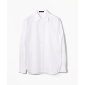 トゥモローランド コットンブロード レギュラーシャツ レディース 11ホワイト 36(9号) 【TOMORROWLAND】