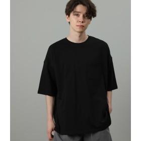 ジュンレッド/USAコットンビッグシルエットTシャツ/ブラック/M