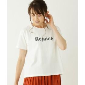 SHOO・LA・RUE / シューラルー ロゴプリントボクシーTシャツ