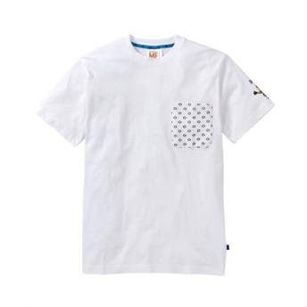 ミニオン ポケット付きプリント半袖Tシャツ Tシャツ・カットソー
