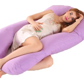 Enipate 抱き枕 妊婦枕 U型 洗える 睡眠改善 多機能 いびき対策 背もたれ 横寝 快適 2070130cm