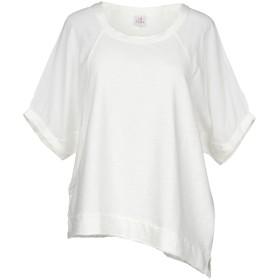 《セール開催中》DEHA レディース スウェットシャツ ホワイト S コットン 100% / レーヨン
