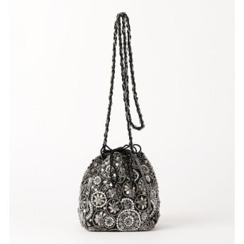 【エメルリファインズ/EMMEL REFINES】 ANANS(アナンズ)フラワービーズ巾着 バッグ