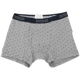MACKINTOSH PHILOSOPHY(underwear) 【マッキントッシュ フィロソフィー】ライトガード/プチスターボクサー ボクサーパンツ,グレー