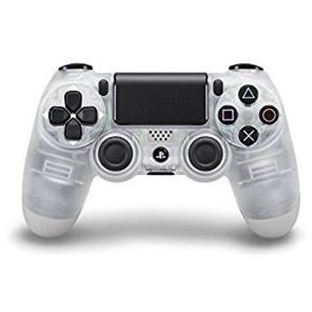 【訳あり】【送料無料】【中古】PS4 ワイヤレスコントローラー (DUALSHOCK 4) クリスタル プレイステーション4 プレステ4 本体