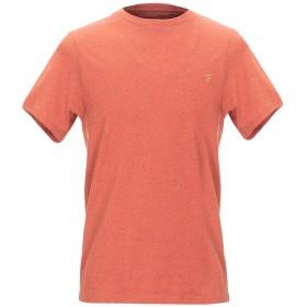 《セール開催中》FARAH メンズ T シャツ レンガ S コットン 100%