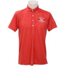 【セール】 フィラ ゴルフ 半袖ポロ 半袖ハイネック メンズ ハンソデシャツ 748702Z メンズ RD