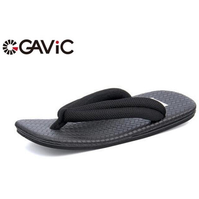 GAViC(ガビック) マトゥー 雪駄 薄 メンズサンダル(マトゥーセッタハク) GS2208 ブラック カジュアル