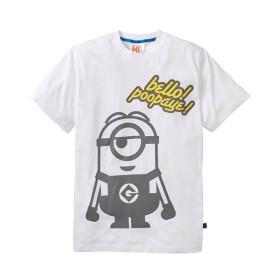 ミニオン スチュアート プリント半袖Tシャツ Tシャツ・カットソー