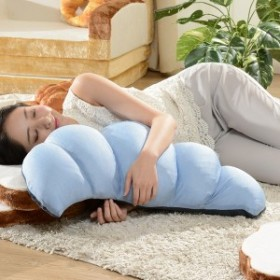 ひんやりクロワッサン枕 枕 クロワッサン ひんやり 冷感 涼しい 暑さ対策(代引不可)【送料無料】