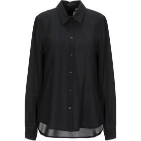 《期間限定セール開催中!》HAPPY25 レディース シャツ ブラック M ポリエステル 100%