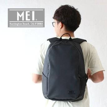 メイ リュックサック デイパック バックパック バッグ かばん ブラック2 25L MEI MDK501 男女兼用 通学 通勤
