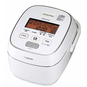 象印 圧力IH炊飯器 極め炊き ホワイト 5.5合 NW-JT10-WA