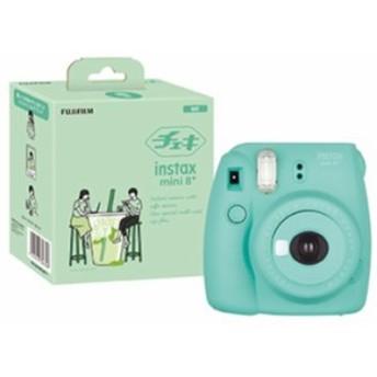 【送料無料】FUJIFILM フジフイルム ミントN インスタントカメラ チェキmini8 プラス ナチュラル ミント INS MINI 8P MINT instax mini 8