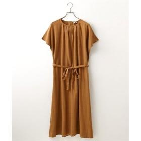 ウインドウペンチュニックワンピース (ワンピース),dress