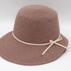 [紙布ホーム]ヘプバーン帽子(グレープパープル)紙織り