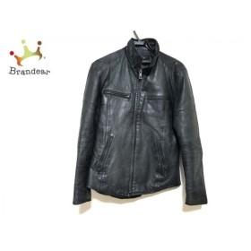 5351プールオム 5351 PourLesHomme ライダースジャケット サイズ3 L メンズ 黒 冬物 新着 20190620