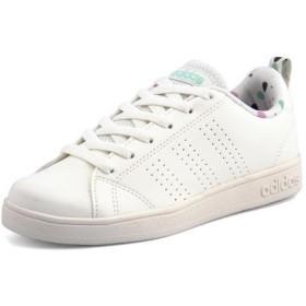 adidas(アディダス) VALCLEAN2 K キッズスニーカー(バルクリーン2 K) B75739 クラウドホワイト/クラウドホワイト/オニキス ガールズ