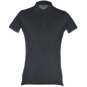 《期間限定セール開催中!》LIU JO MAN メンズ ポロシャツ ダークグリーン M 95% コットン 5% ポリウレタン