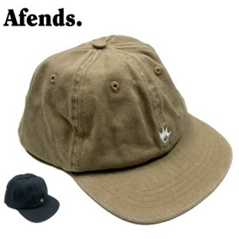 19SS新作【afends(アフェンズ)】キャップ/CAP/帽子【BEIGE/ベージュ/BROWN/ブラウン】