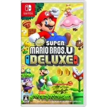 (中古)(Switch) New スーパーマリオブラザーズ U デラックス (管理番号:381755)