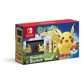 (中古)Nintendo Switch ポケットモンスター Let's Go! ピカチュウセット (モンスターボール Plus付き) (管理:463059)
