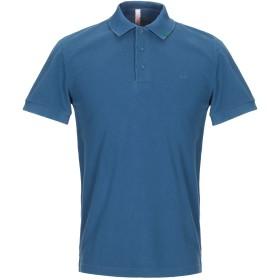 《セール開催中》SUN 68 メンズ ポロシャツ ブルーグレー S コットン 100%