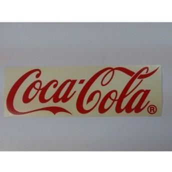 コカコーラ ウォールステッカー レッド M カッティングステッカー CC-CDM1R
